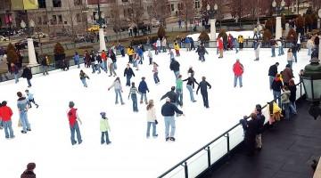 McCormick Tribune Ice Rink in Chicago