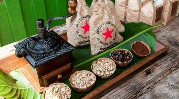 coffee products from Hacienda Buena Vista in Puerto Rico