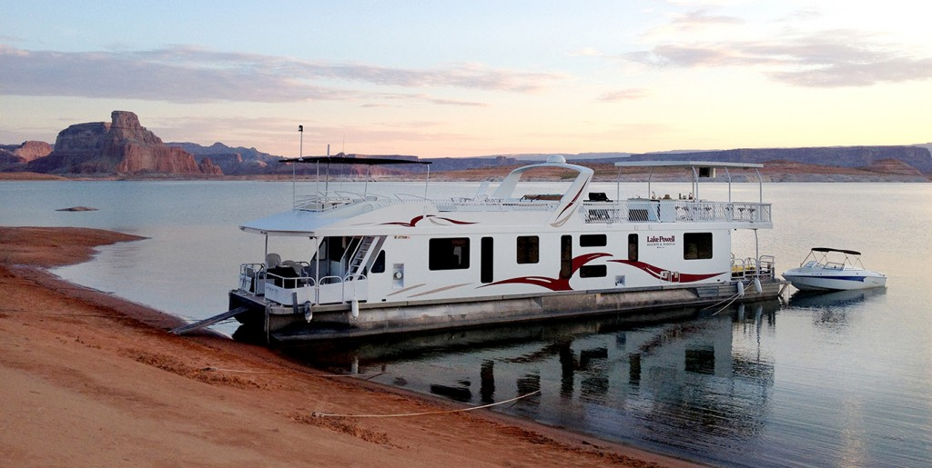 House Boat on Lake Powell