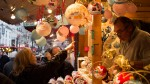 Christmas ornaments in Reims France