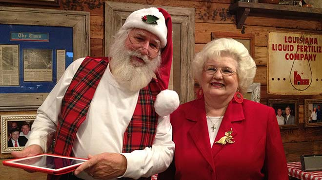 Santa Bob and Mrs. Beth Claus Shreveport Louisiana