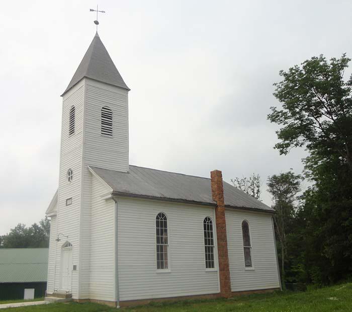 Santa Claus Church in Indiana