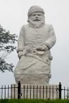 Statue of Santa Claus