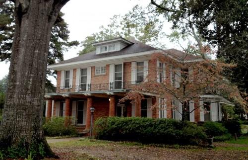 Steel Magnolia house in Louisiana