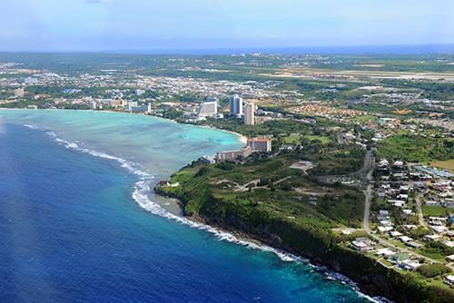 Guam-Tumon Bay (aerial)