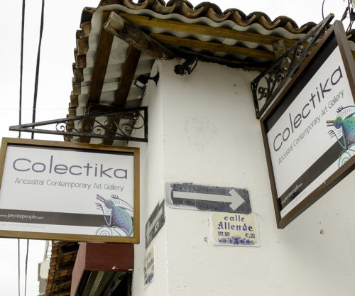 Colectika Gallery sign