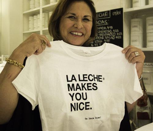 La Leche tshirt
