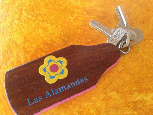 Las Alamandas keys