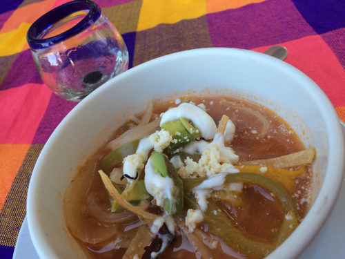 Sopa de Tortilla at Gaby's Restaurant Bar