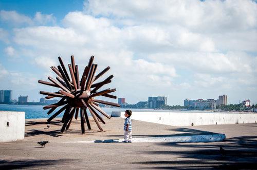 """Eriza-Dos"" (sea urchins) by artist ""Blu"" (Maritza Vazquez) [iron, 2006]"
