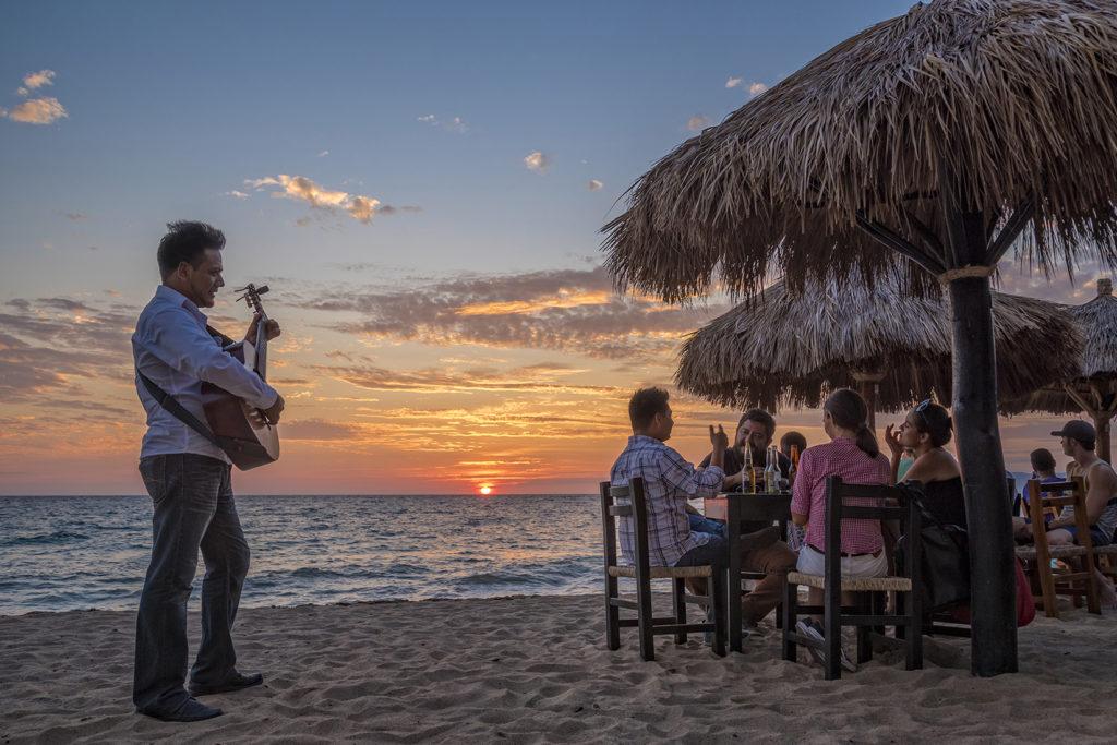 Sunset at Playa Los Muertos