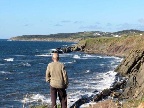 Cape Breton west coast-bluffs
