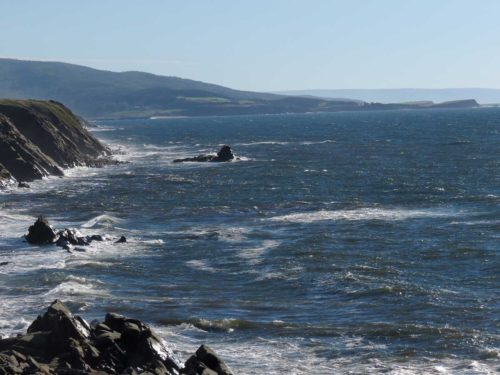 Cape Breton west coast-ocean