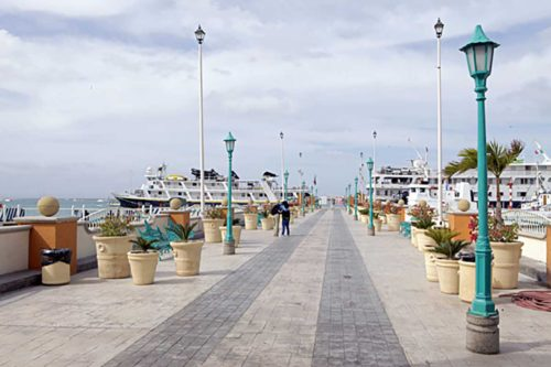 Docks of La Paz, Mexico