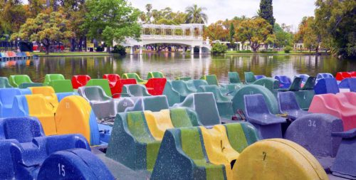 Paddle-boats-at Palermo Lakes