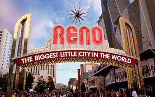 """Reno, Nevada, """"The Biggest Little City in the World"""""""