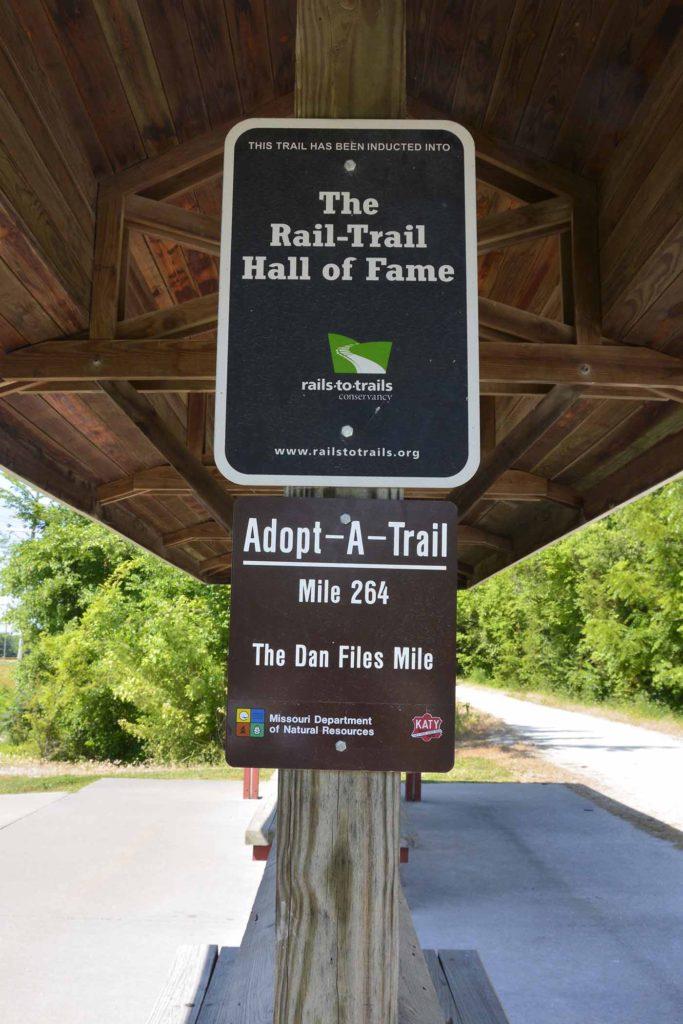 Clinton Trail - Mile 264