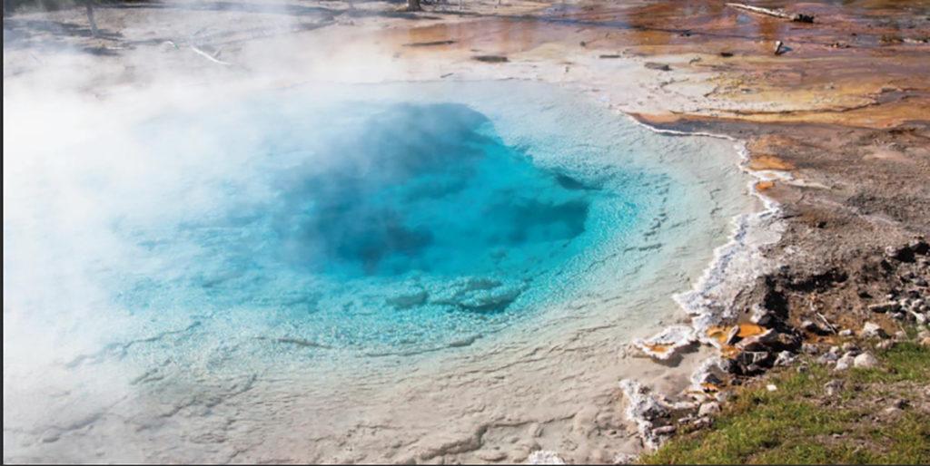 Geo Thermal Blue Pool