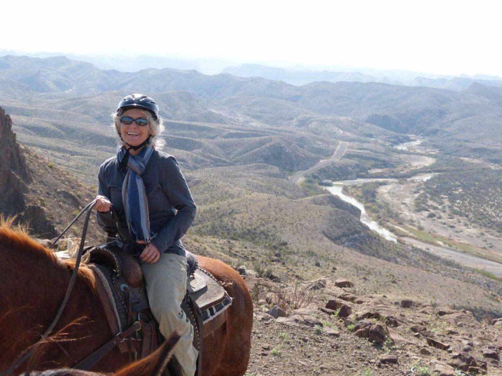 On horseback in Big Bend