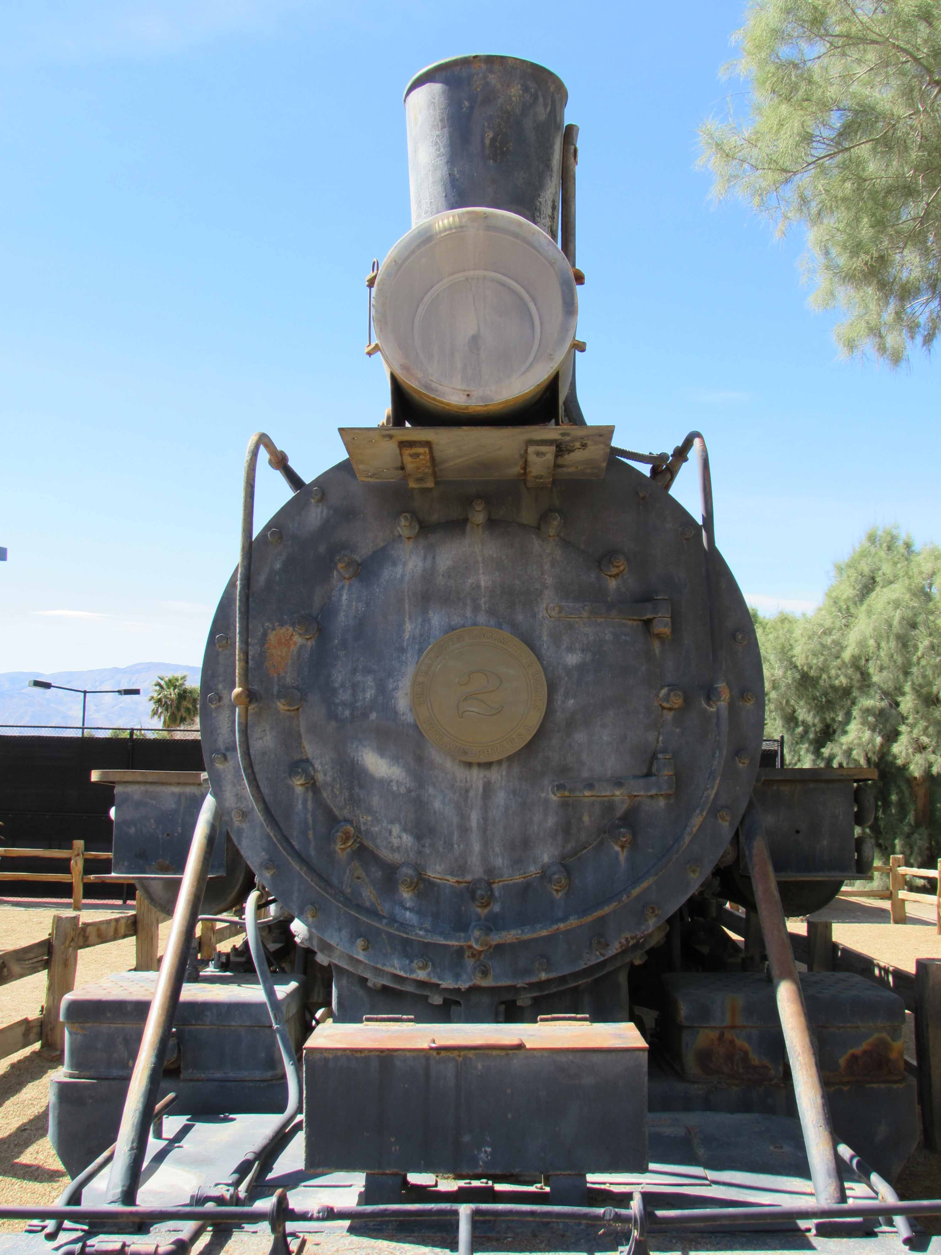 One of Trains on Display at Borax Museum