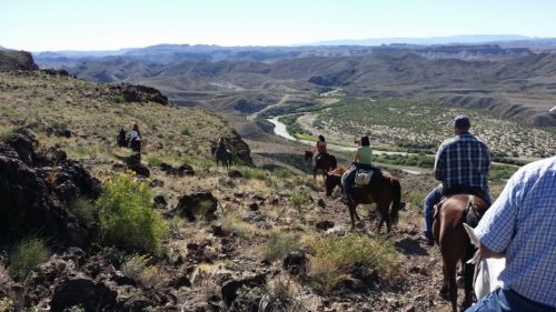 Riding with Big Bend Stables