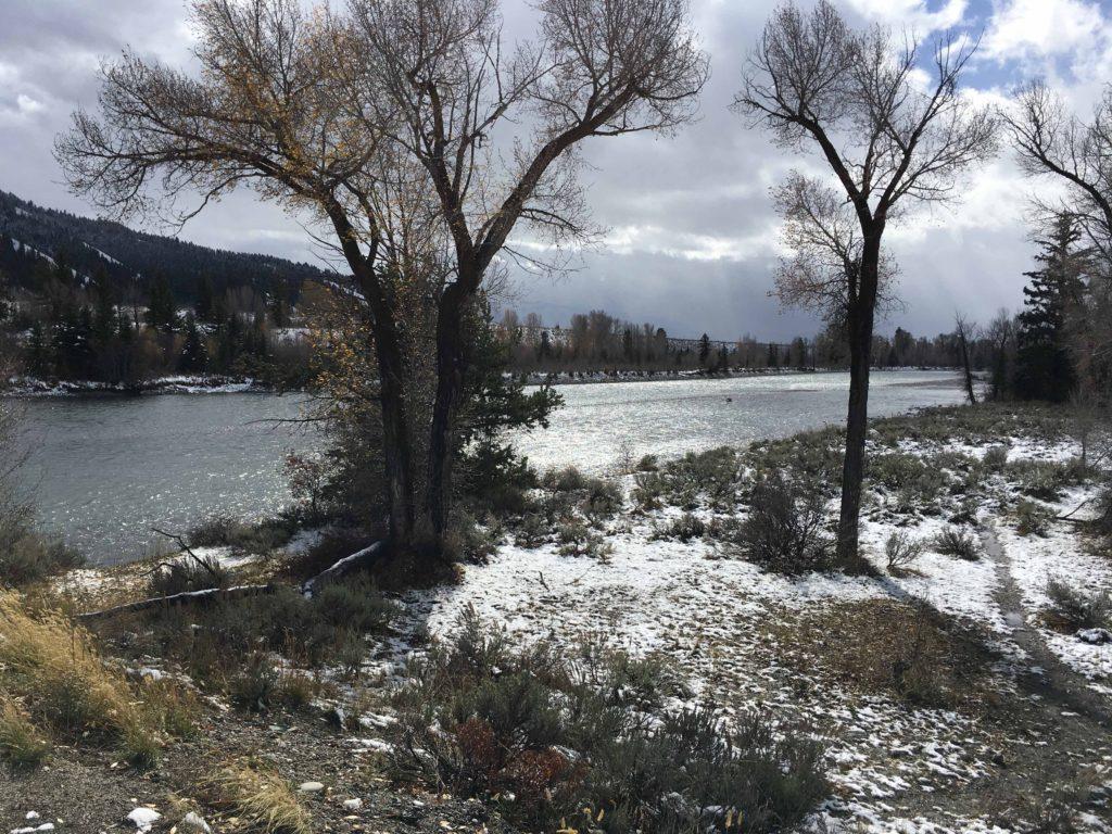 Snake River near the Visitors' Center