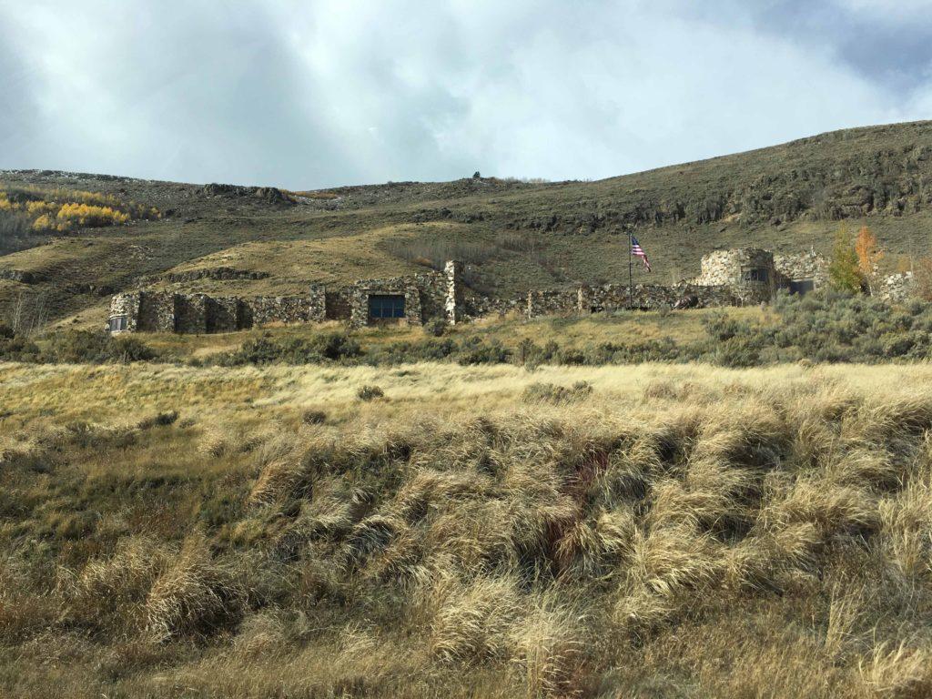 National Wildlife Museum buildings blend into terrain