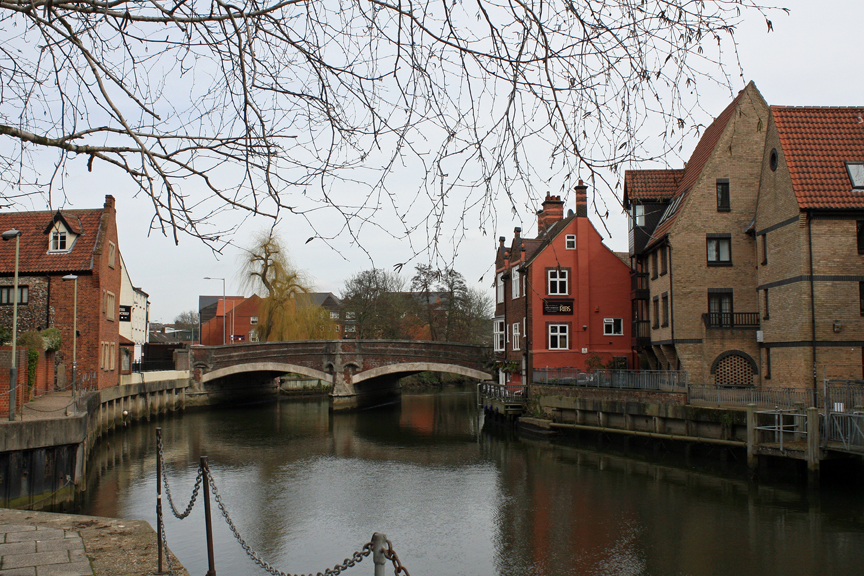 Norwich, England and its Canals