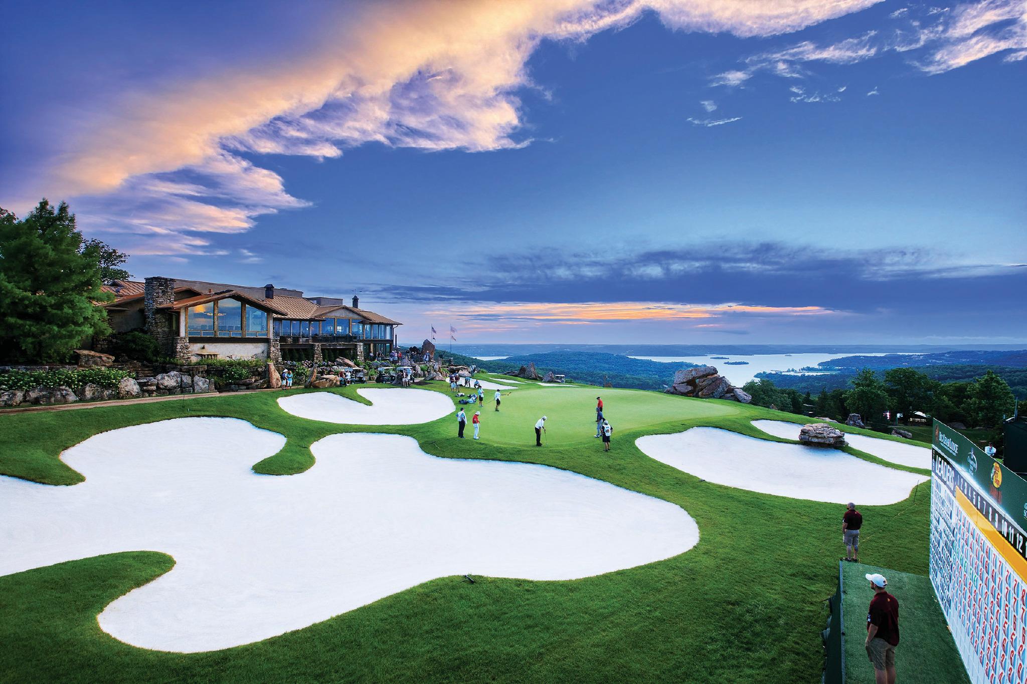 Legends of Golf Tournament Green